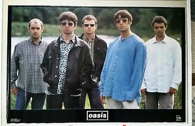 Rare. 1996 Oasis Funky Ent. Poster. 22.5 X 34. Free Shipping.