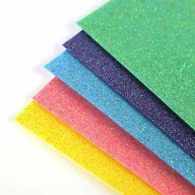 Simply Creative Glitter Felt A4 Sheets x 5 Multipack SCPCK001 Christmas Craft