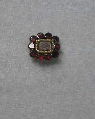 FINE ANTIQUE GEORGIAN MOURNING BROOCH,,Collectors, display, jewellery