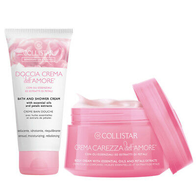Collistar Crema Carezza Dell'amore 200 Ml + Doccia Crema Dell'amore 50 Ml