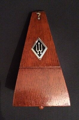 Wittner solid wood metronome - with bell strike - New mechanism