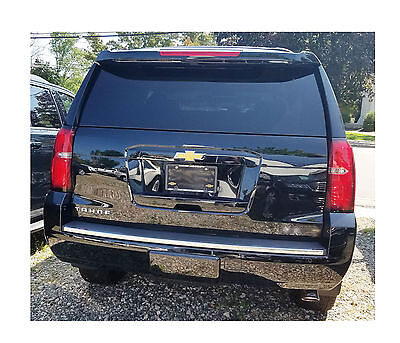 Rear Bumper Trim Molding Chrome Strip Fits 2015 - 2020 Chevrolet Tahoe Suburban
