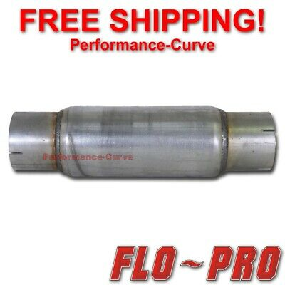 "Flo Pro Twister F5 Race / Diesel Muffler 4"" In - 18"" Long"