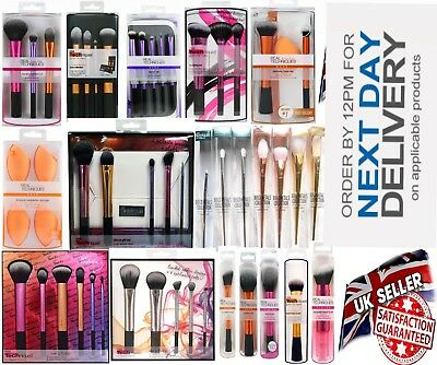 Real Techniques Makeup Brushes 3 set Starter set Core Collection Travel Esential