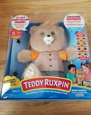 Teddy Ruxpin 2017 Animated Bear Original Outfit Bluetooth Brand New