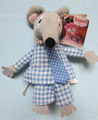 Fab Retro Bagpuss *charlie* Mouse Plush Soft Toy With Tag