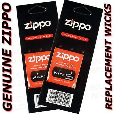 Genuine Zippo Replacement Wicks New - Buy One Get 2 Packs