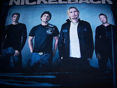 2009 licensed NICKELBACK t shirt - VIP - NEW unused - (L)