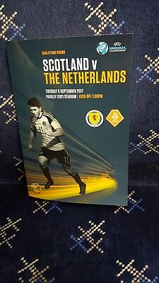 Scotland U21 V Netherlands U21 Euro Champs Qualifier.tuesday 5Th Sep.mint.