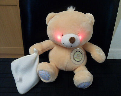 My First Forever Friends Baby Musical Softie Bear Light Up Cheeks Teddy
