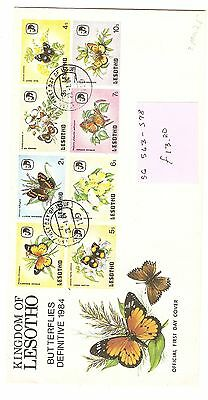 Lesotho First Day Covers