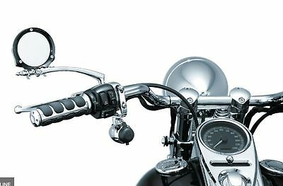 HARLEY 82-17 all models Kuryakyn  electrical power point outlet H-bars mounted