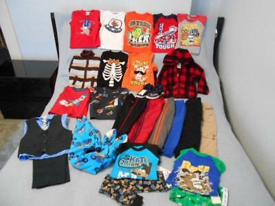 23 Pc Mixed Lot Boys Size 3-3T Used Winter Clothing (9 are nwt)