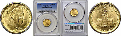 1926 Sesquicentennial $2 1/2 Gold Commemorative PCGS MS-64