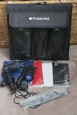 Polaroid Table Top Portable Lighting Tent Kit A Studio Classic In Ex-Cond & Gwo