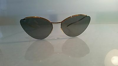 Solamor classic 1950's sunglasses by polaroid exceptional condition cased