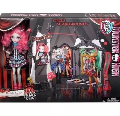 Monster High Freak Du Chic Circus Scaregrounds Rochelle Goyle Doll