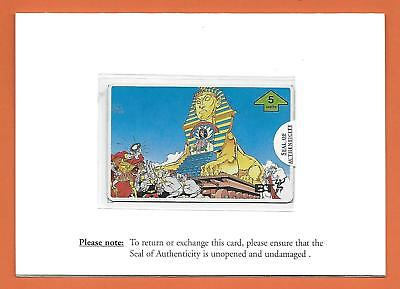 Uk & Germany - Set Of 12 Asterix Cards In Folders .