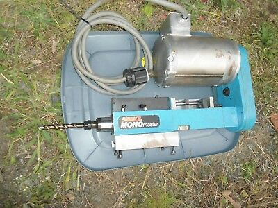 Suhner Mono Master Drill with Baldor 1/2HP Electric Motor