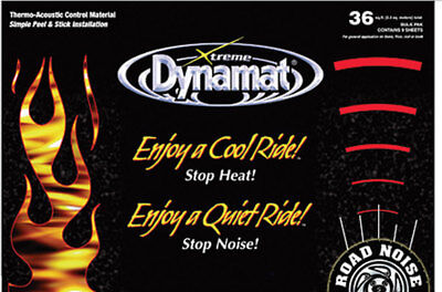 Dynamat Extreme Sound Barrier Mega Pack 24x48 in 9 pc P/N 10465