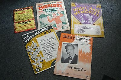 Vintage Music Related Items