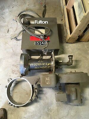 Fulton Boiler Gas Burner & Control Panel - Boiler too!
