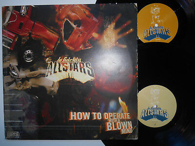 LO-FIDELITY ALLSTARS How To Operate With A Blown Mind-EX/VG Cond Double LP 1998