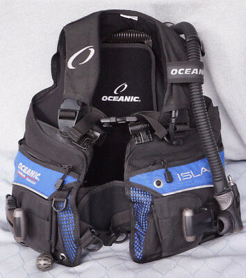 Oceanic Isla Ladies Scuba Diving BC with Integrated Weights