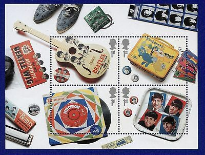 BEATLES  40 x 1st CLASS STAMPS  - UNUSED & MINT - 10 SHEETS - NOW COLLECTIBLE