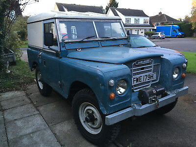 1970 Landrover Series 2A/3 200TDI  TAX and MOT Exempt