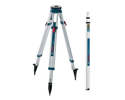 Bosch BT160 Professional Tripod with 8ft Leveling Rod Package