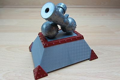 Rare BBC Large Robot Wars Launcher Stand Pullback N Go Collectible Action Figure