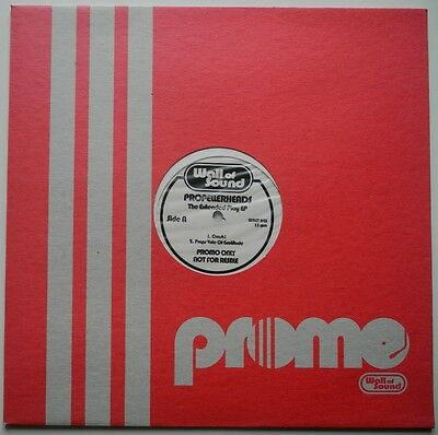 """12"""" Uk**propellerheads - The Extended Play Ep (Wall Of Sound / Promo)**27330"""
