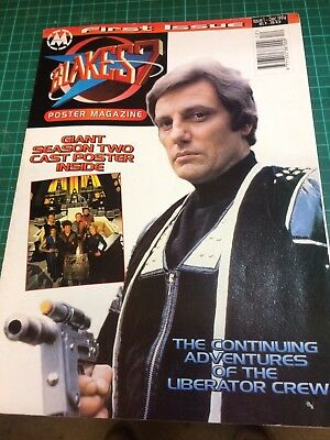 Blakes 7 Poster Mag issue 1