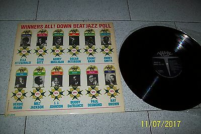 Winners All ! Down Beat Jazz Poll Lp/ Verve Vi 8579/ 1965 Italy Cover Laminata
