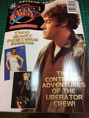 Blakes 7 Poster Mag issue 3