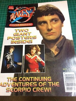 Blakes 7 Poster Mag issue 6