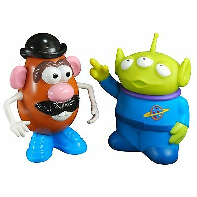 Brand New, Sealed Toy Story Mr Potato Head and Alien 3D Bubble Bath Twin Pack