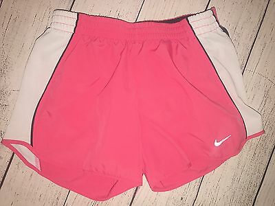 Nike Dry Fit Women's Running Shorts Sports Wear Active Pink Size XS (16)