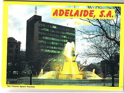 Adelaide - South Australia - Souvenir Postcard Folder 12 Views