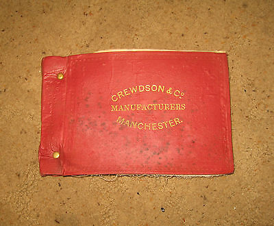 A Crewdson Cotton Sample Catalogue : 1921