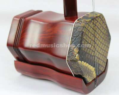 Quality professional red sandalwood ERHU,book+DVD(English),Chinese violin