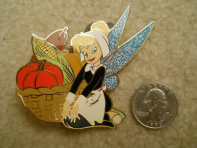Disney Shopping Exclusive Thanksgiving Harvest Jumbo LE 500 Tinker Bell Pin
