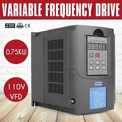0.75KW 110V Variable Frequency Drive VFD solutions perfect motor Capability