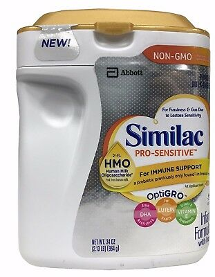 Similac Pro-Sensitive Infant Formula with Iron for Immune Support 34 OZ