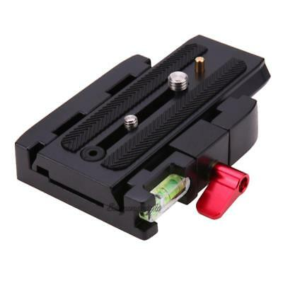 Quick Release Plate P200Clamp Adapter for Manfrotto 577 501 500AH 701HDV 50 NIGH