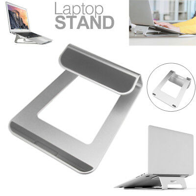 "Aluminum Laptop Stand Riser Tablet Holder for Apple  MacBook Pro Air 11"" to 15"""