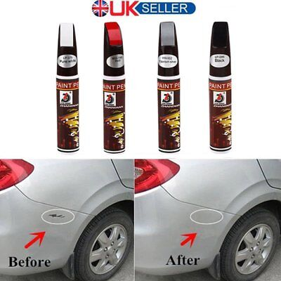5PC Pro Car Scratch Repair Remover Pen Clear Coat Applicator Tool for BMW Aud UK