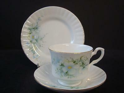 Royal Stafford Blossom Time Trio Cup Saucer And Side Plate