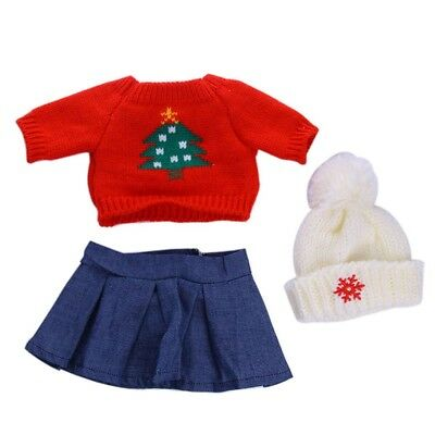 Doll accessories doll clothes Sweater set for 18 inch American girl doll